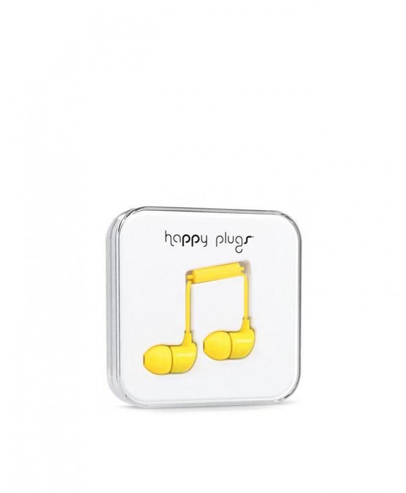 Happy Plugs In-Ear (Yellow)