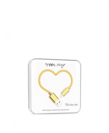 Happy Plugs Charge + Sync Cable (Gold)