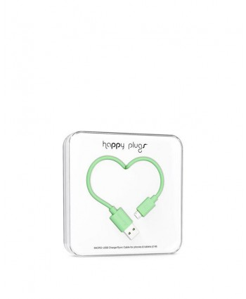 Happy Plugs Charge + Sync Cable (Mint)