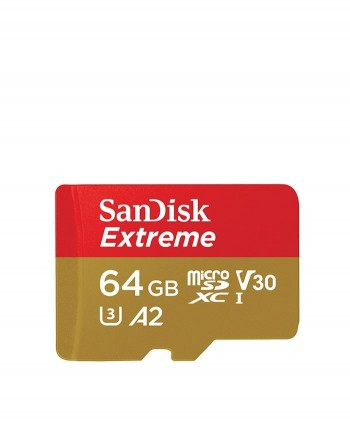 Sandisk Extreme microSD A2 Card (64GB)