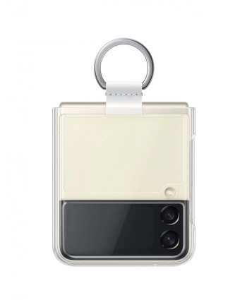 Samsung Galaxy Z Flip 3 Case Clear Cover with Ring
