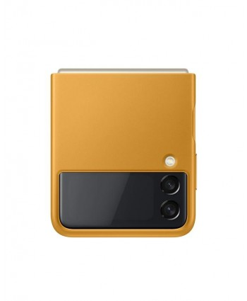 Samsung Galaxy Z Flip 3 Case Leather Cover