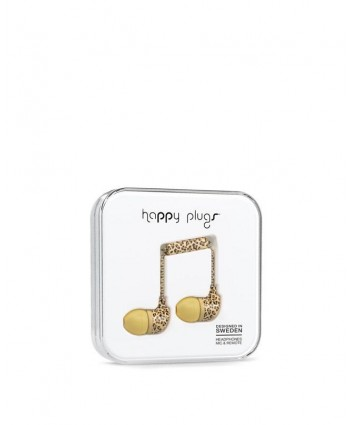 Happy Plugs In-Ear (Leopard)