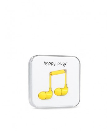 Happy Plugs In-Ear (Yellow)