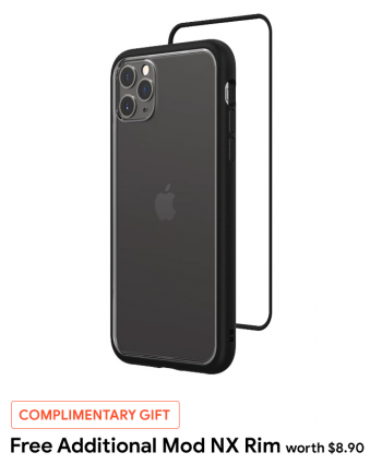RhinoShield Mod NX case for iPhone 11 Pro Max