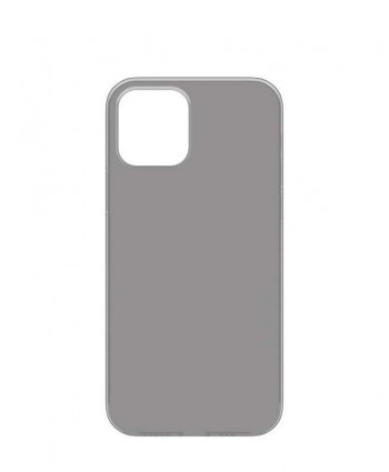 Power Support Air Jacket case for iPhone 12 / 12 Pro (Clear Black)