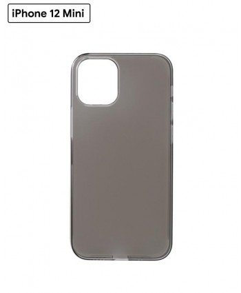 Power Support Air Jacket case for iPhone 12 Mini (Clear Black)
