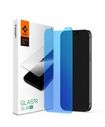 Spigen iPhone 12 Mini Glas.tR HD Anti-Blue