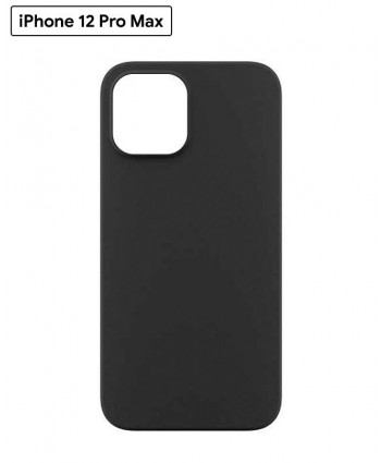 Power Support Air Jacket case for iPhone 12 Pro Max (Rubberized Black)