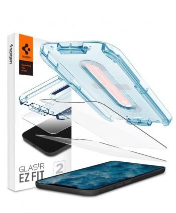 Spigen iPhone 12 Pro Max Glas.tR EZ Fit (2-Pack)