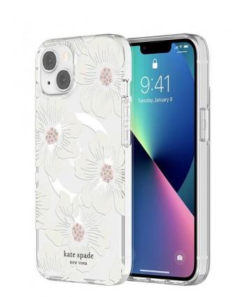 Kate Spade iPhone 13 Case Hardshell MagSafe (Hollyhock Floral)