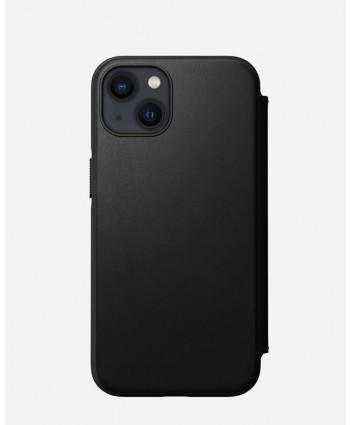 Nomad iPhone 13 case Modern Leather Folio (Black)