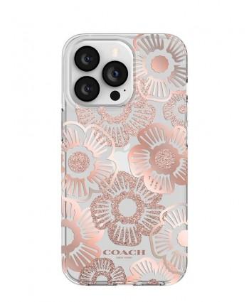 Coach iPhone 13 Pro Case (Tea Rose Blush)
