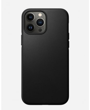 Nomad iPhone 13 Pro Max case Modern Leather (Black)