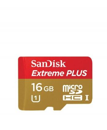 SanDisk 16gb Extreme® PLUS microSDHC™ UHS-I Card