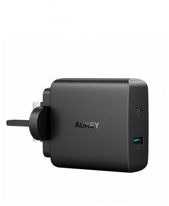 AUKEY Amp USB-C Wall Charger Power Delivery 3.0