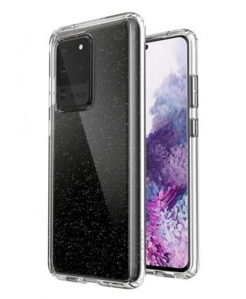Speck Presidio Perfect-Clear with Glitter Galaxy S20 Ultra case