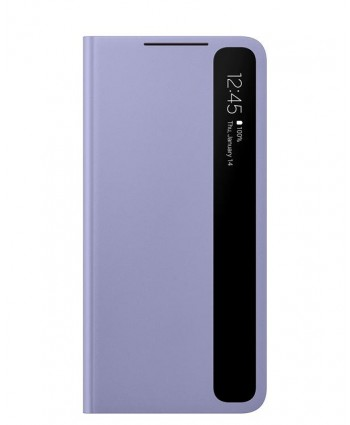Samsung Clear View Flip Cover for Galaxy S21 Plus