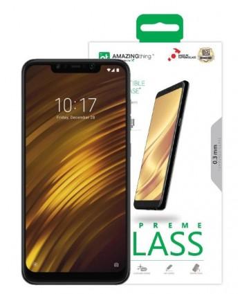AMAZINGthing Xiaomi Pocophone SupremeGlass (Crystal)