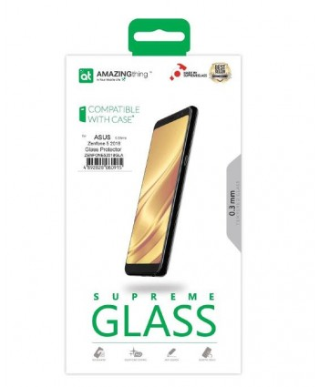AMAZINGthing ASUS Zenfone 5 2018 0.33mm SupremeGlass (Crystal)