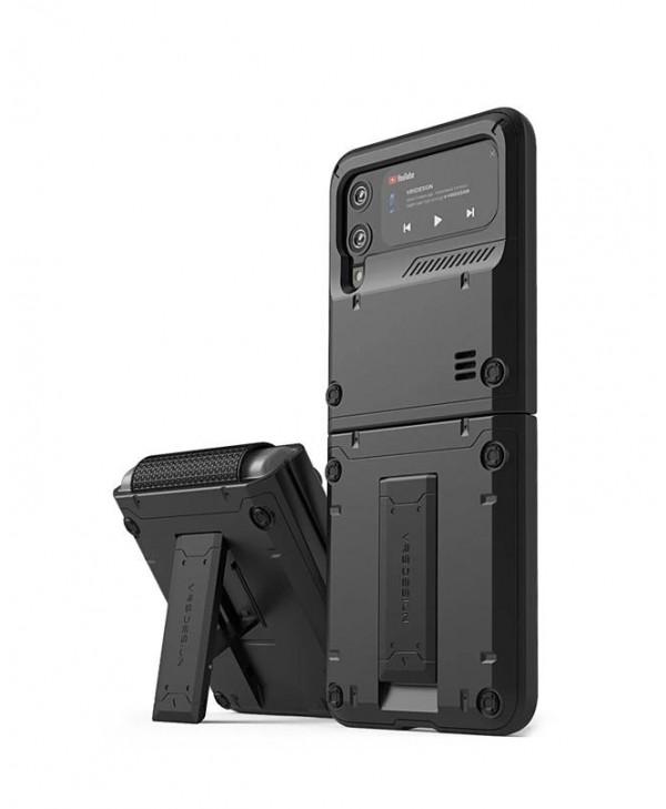 VRS Design Galaxy Z Flip 3 Case QuickStand Active