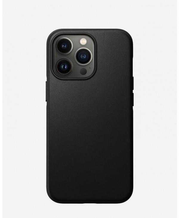 Nomad iPhone 13 Pro case Modern Leather (Black)