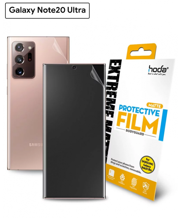 HODA Extreme Protective Film for Galaxy Note 20 Ultra (Matte)