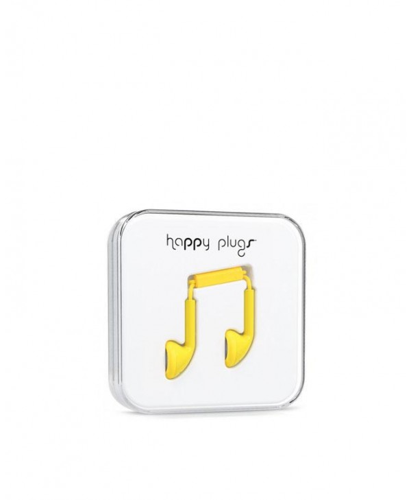 Happy Plugs Earbud (Yellow)